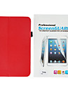 Stylish Minimalist PU Leather Full Body Case With Touch Pen And Protective Film for Samsung Galaxy Tab 3 8.0 T310