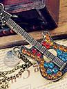 Chandail rétro chaîne de diamant guitare N41 européen et américain