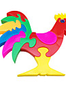 3D Puzzle Multi-color Cock