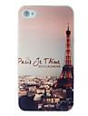 Tour Eiffel terne poli bossage arrière pour iPhone 5 / 5s