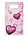 Beautiful Hraet-Shaped Pattern Protective Case for LG P700/P705/L7