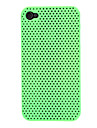 Plein cas de couleur de maille de modèle de PC dur pour iPhone 4/4S (couleurs assorties)