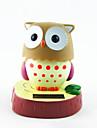 Solar Powered Night Owl 180 graus virar a cabeça Toy