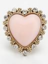 Rhinestone оформлен кольцо Heart Shape