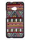 Colorful Decoração Padrão Hard Case para HTC ONE (PN07120, HTL22, HTC M7, HTC 801e)