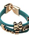 Bowknot PU Bracelet (Assorted Color)