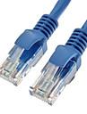 Cat5e UTP RJ45 mâle à mâle câble réseau Ethernet 350MHz 28AWG CCA PVC (2M)