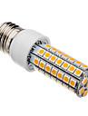 7W E26/E27 LED лампы типа Корн T 63 SMD 5050 620-640 lm Тёплый белый AC 220-240 V