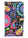 Abstraction FishPattern Case Full Body avec fente pour carte pour Huawei Y300