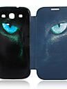 용 삼성 갤럭시 케이스 케이스 커버 플립 패턴 풀 바디 케이스 동물 인조 가죽 용 Samsung S3