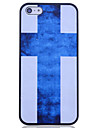 Cross Blue Back чехол для iPhone 5/5S
