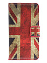 England Flag Pattern Full Body Case with Card Slot for HuaWei Y300