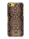 Snakeskin Padrão PC Hard Case para iPhone 5C (cores sortidas)