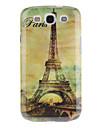 Paris Tour Eiffel modèle rigide affaire pour Samsung Galaxy S3 I9300