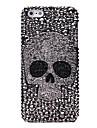 Bijoux de crâne en diamants pleine dos couvert pour l'iPhone 5/5S