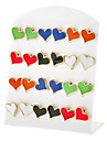 Heart love Stud Earrings(Random Color)