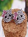 Korean Version Of The Small Jewelry Boutique Personality Hellokitty Cute Cat Earrings Diamond Earrings E646