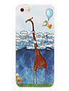 étui rigide motif girafe dessin animé chaud pc pour iphone 7 7 plus 6s 6 plus soi 5s 5c 5 4s 4