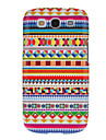 Colorful Dense Graphic Pattern Protective Hard Back Cover Case for Samsung Galaxy S3 I9300