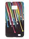 Meteor Shower Of The Hard Case Pattern Rainbow for Samsung Galaxy SII i9100