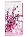 Wintersweet Pattern Full Body Case with Card Slot for Sony L36h (Xperia Z)