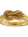 Chinese Knot Twisted Ring