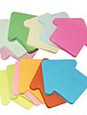 Arrowhead Shaped Self-стикер Примечание (2 шт Случайный цвет)