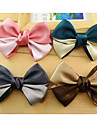 Z&X®  Double Color Ribbon Color Bowknot Hairpin