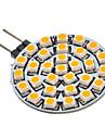 2W G4 / GU4(MR11) Точечное LED освещение 30 SMD 3528 90-110 lm Тёплый белый AC 12 V