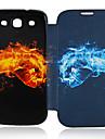 Для Кейс для  Samsung Galaxy Чехлы панели Флип С узором Чехол Кейс для Мультяшная тематика Искусственная кожа для Samsung S3