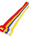 Hook & Loop fixation Attaches colorés 5 pcs