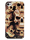 Sculpture Skull Back Case for iPhone 4/4S