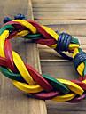 Twist Color Leather Bracelet