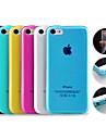 Сплошной цвет TPU мягкое чехол для iPhone 5C (разных цветов)