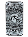 Abstract Eye Pattern Pattern Plastic Hard Case for iPhone 4/4S