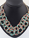 Jewelry Choker Necklaces Daily Alloy Women Red / Blue Wedding Gifts