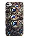 As penas do pavão Case Voltar para o iPhone 4/4S