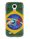 For Samsung Galaxy Case Pattern Case Back Cover Case Flag PC Samsung S4 Mini