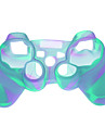 Plastic Protective Case for PS3 Wireless Controllers - Light Blue