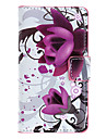 Lotus Pattern Full Body Case with Card Slot for HuaWei Y300