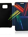 Colorful Housse en cuir pour Samsung Galaxy Modulator S2 I9100