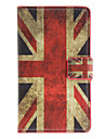 England Flag Pattern Full Body Case with Card Slot for Nokia Lumia 925