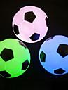 Разноцветные ночники в форме футбольного мяча с подсветкой
