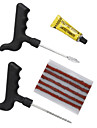 Tubeless Tire Puncture Plug Repair Sealant Cement Fix Tool Kit for Cars Motorcyles