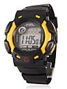 Детские спортивные цифровые многофункциональные наручные часы с резиновым ремешком (разные цвета)