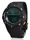 남자의 다기능 디지털 방식으로 큰 둥근 다이얼 고무 밴드 손목 시계 (분류 된 색깔)