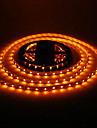 24W 5M 60x3528SMD 900-1200LM luz amarela LED Strip Light (DC12V)
