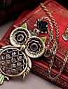 (1 Pc) Vintage (Coruja) Bronze Alloy Pingente (Bronze)