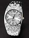 Круглый циферблат женские Diamante сплава группы кварцевые аналоговые часы браслет (разных цветов)
