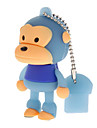 Unidade flash usb macaco 32gb
